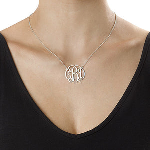 Celebrity Alexia Monogram Necklace (1.25)