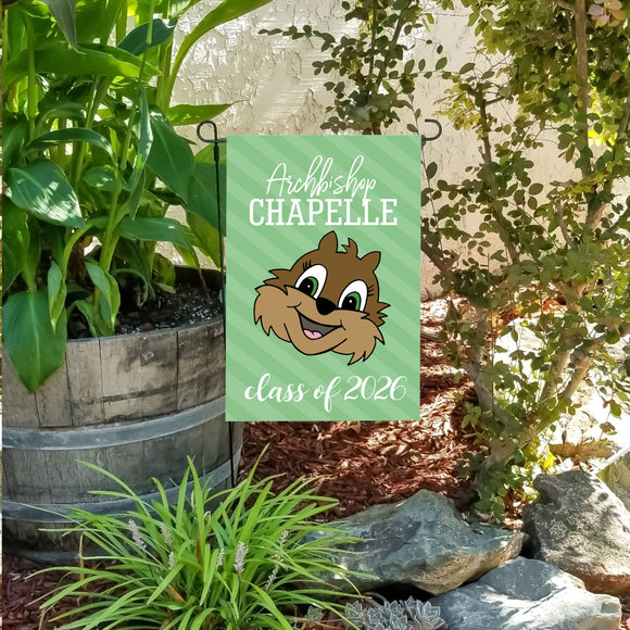 Chipmunk c/o '26 garden flag