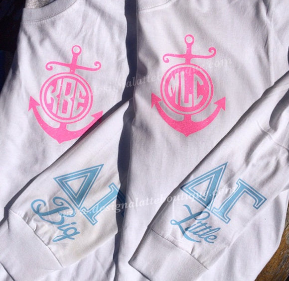 Sorority Big/Lil long sleeve