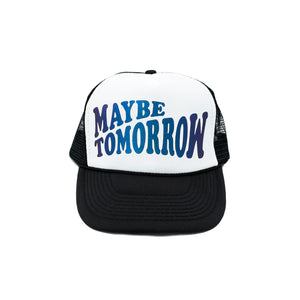 Everyday Hat (WHITE/BLACK/IRIDESCENT)
