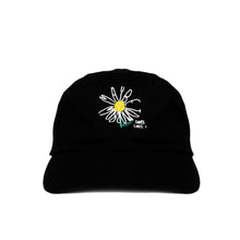 """Daisy"" Dad Cap - Black"