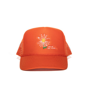 """Daisy"" Cap - Burnt Orange"