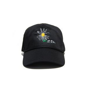 """DAISY"" GOLF CAP - BLACK"