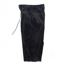 Everyday Crop Corduroy Pants - Black