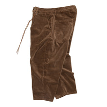Everyday Crop Corduroy Pants - Brown