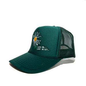 """Daisy"" Cap - Forest Green"