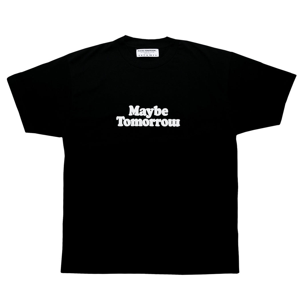 Maybe Tomorrow SS18 Logo Tee (Black)