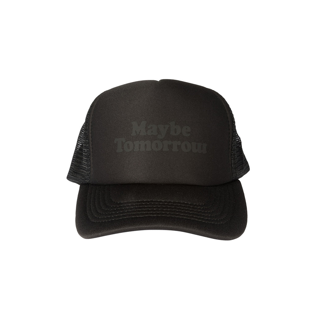 MT Trucker Hat  (Black/Black)