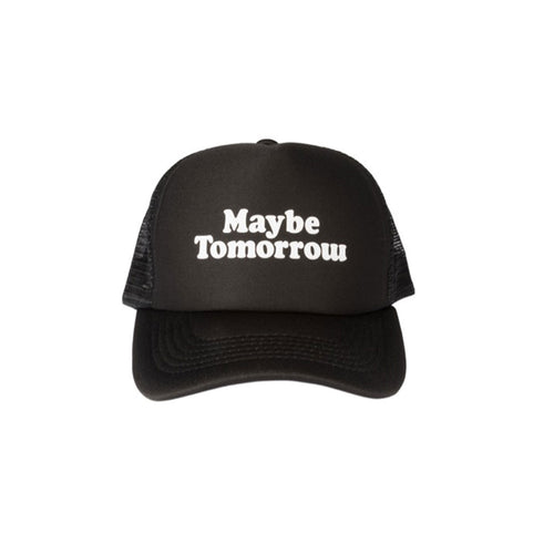 MT Trucker Hat  (Black/White)