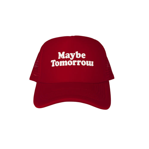 MT Trucker Hat  (Burgundy)