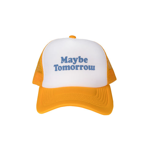 MT Trucker Hat  (Yellow/Blue)