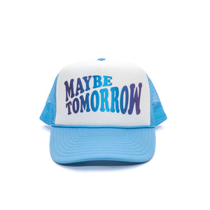Everyday Hat (WHITE/SKYBLUE/IRIDESCENT)