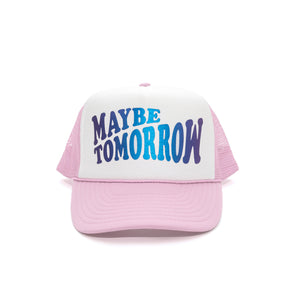 Everyday Hat (WHITE/PINK/IRIDESCENT)