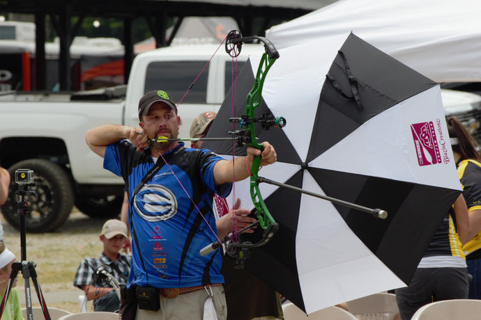 Nathan Brooks promotes Ethics Archery Products