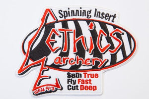 "Ethics Archery ""Classic"" Logo Patch"