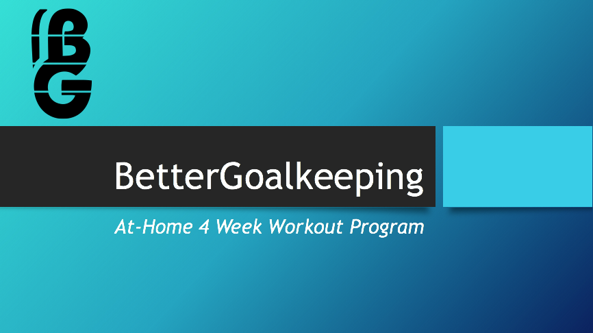 Four Week- At Home Program