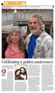 Happy Golden Anniversary Jim & Dolly Phillips 50th