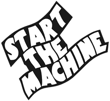 START THE MACHINE LOGO STICKERS