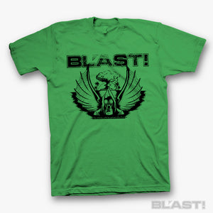 "BL'AST! ""For Those Who've Graced The Fire"" s/s Green"