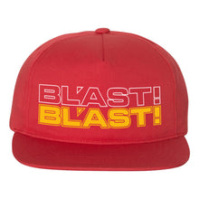 "BL'AST! ""Logo"" Unstructured Five Panel Snapback Cap"