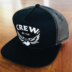 CREW mfg TRUCKER HAT
