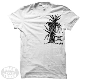 "Pack Your Trash ""Yucca"" Womens Short Sleeve"
