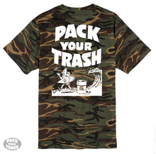 "PACK YOUR TRASH ""Surf Geek"" S/S CAMO"