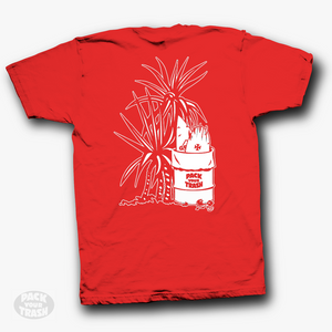 "Pack Your Trash ""Yucca"" Mens Short Sleeve"