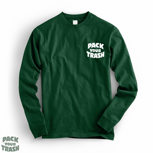 "Pack Your Trash ""Fisher Geek"" l/s"