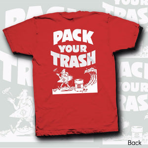 "Pack your Trash ""Surf Geek"" Youth s/s"