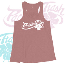 "Pack Your Trash ""Flower"" Womens Tank"