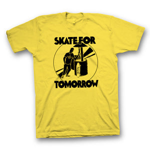 "Start The Machine: STM ""Skate For Tomorrow""  Wishing Well s/s"