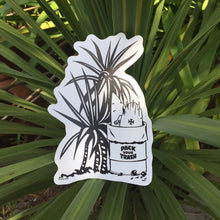 Copy of Pack your Trash: Yucca Sticker