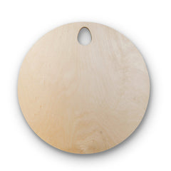 Round Wooden Cutting Board