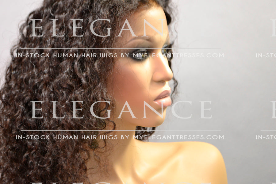 Layla 360 Natural Hair Wig - My Elegant Tresses - Full Wigs