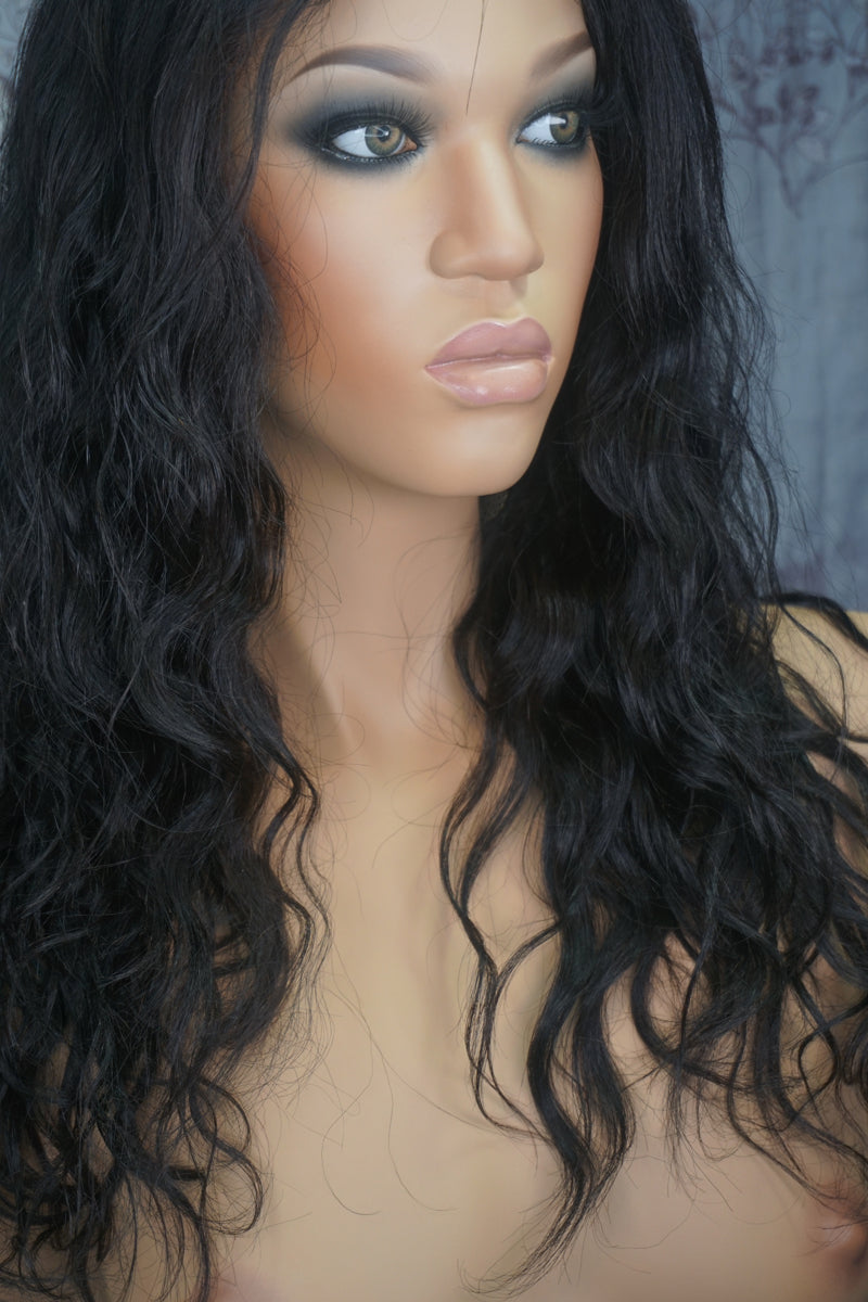 Lana Full Lace Yaki Body Wave Human Hair Wig