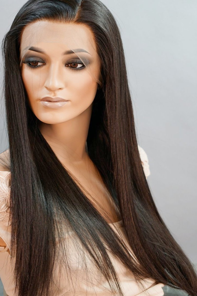 Amanda Front Lace Human Hair Wig - My Elegant Tresses - Good Quality Wigs