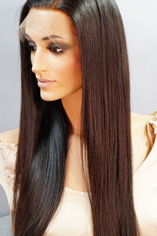 Amanda 360 Long Straight Hair Wig - My Elegant Tresses - Good Quality Wigs