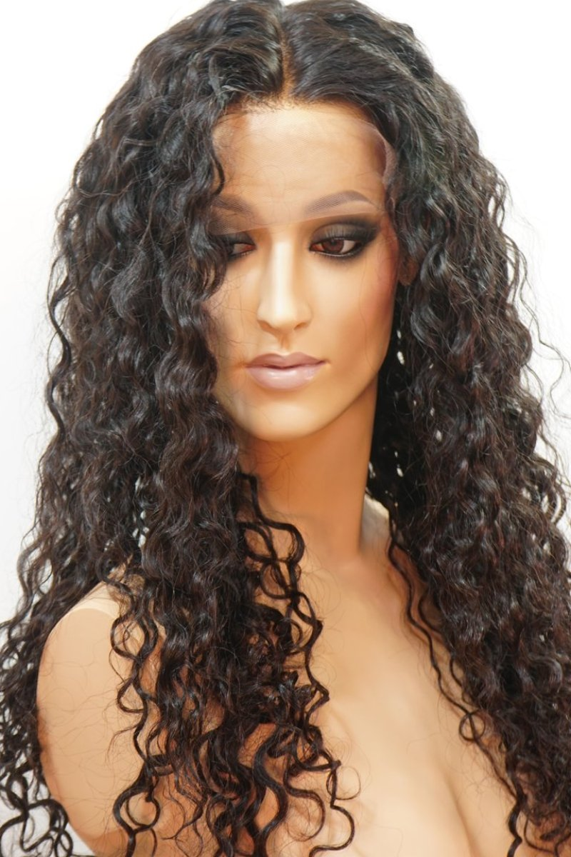 Cora Front Lace Curly Wig - My Elegant Tresses - Top Quality Human Hair Wigs