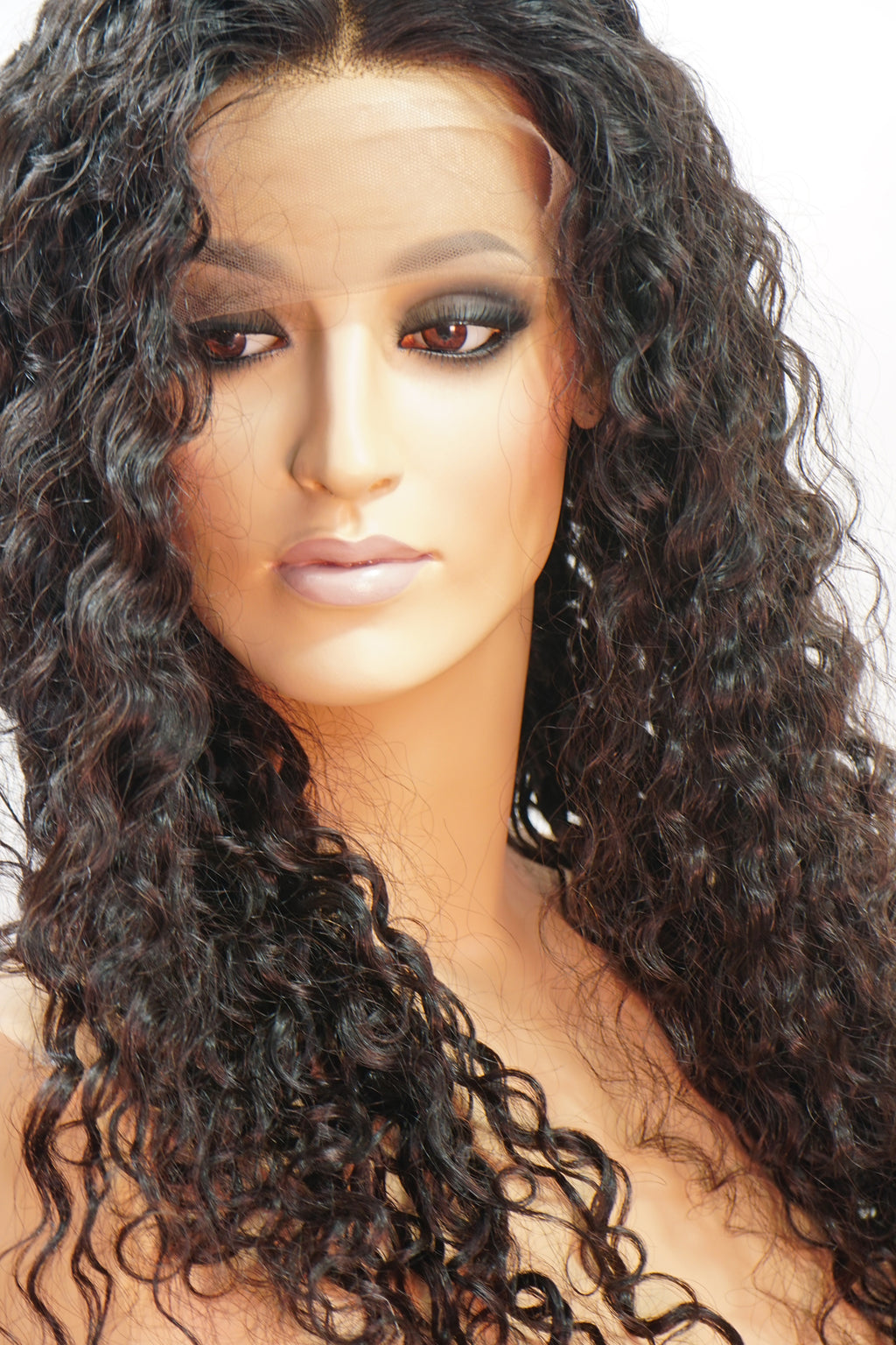 Cora 360 Curly Human Hair Wig - My Elegant Tresses - Natural Curly Wig