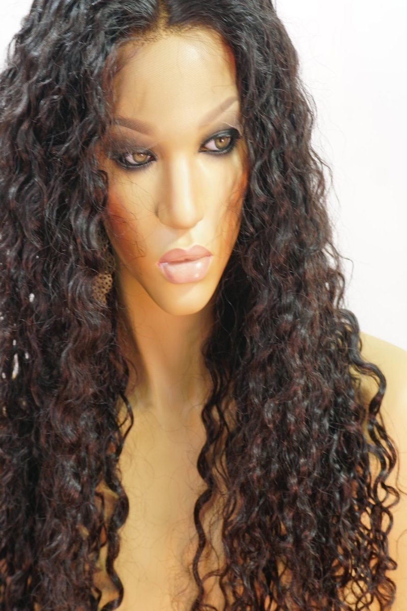 Cora Full Lace Human Hair Curly Wig