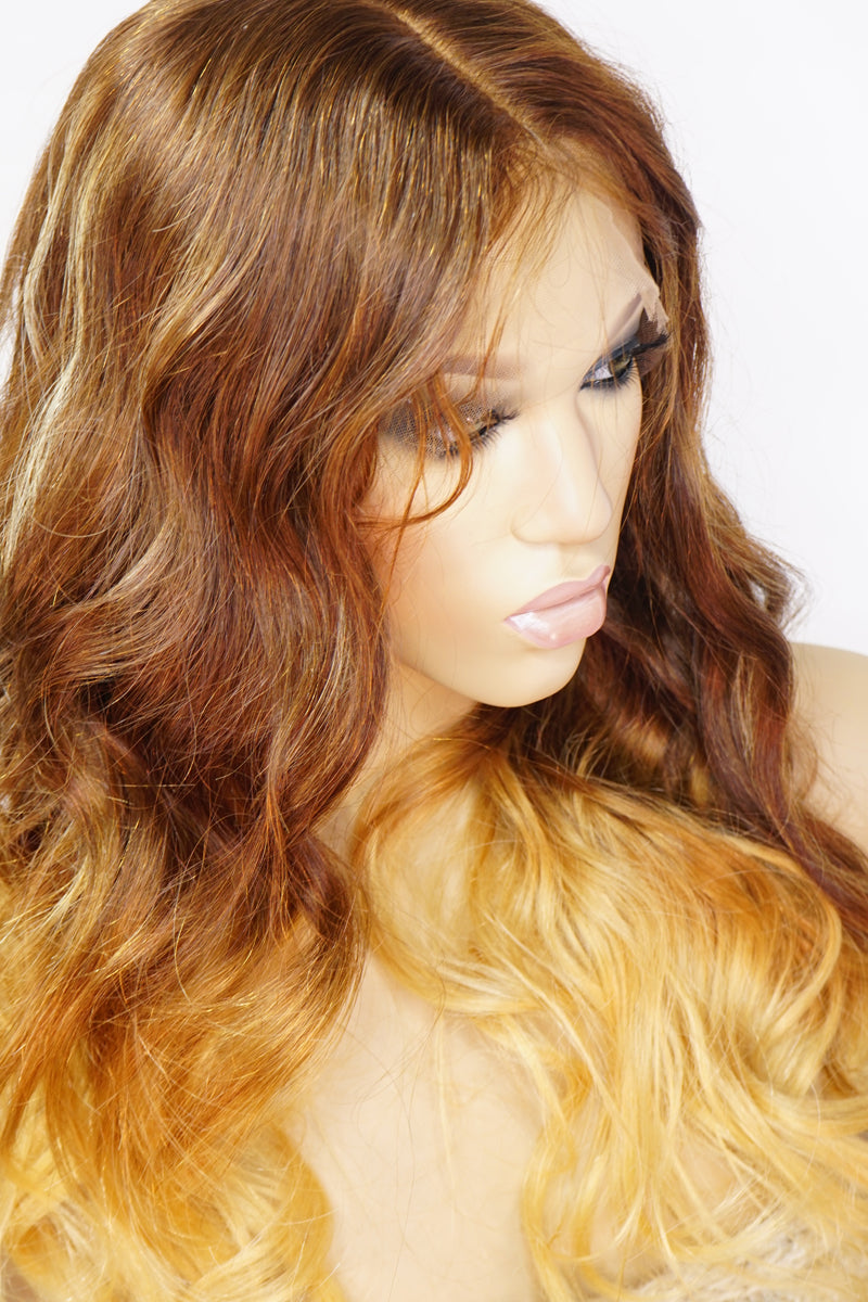 Janet Front Lace Human Hair Wig