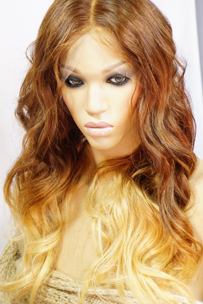 Janet 360 Lace Frontal Ombre Wig