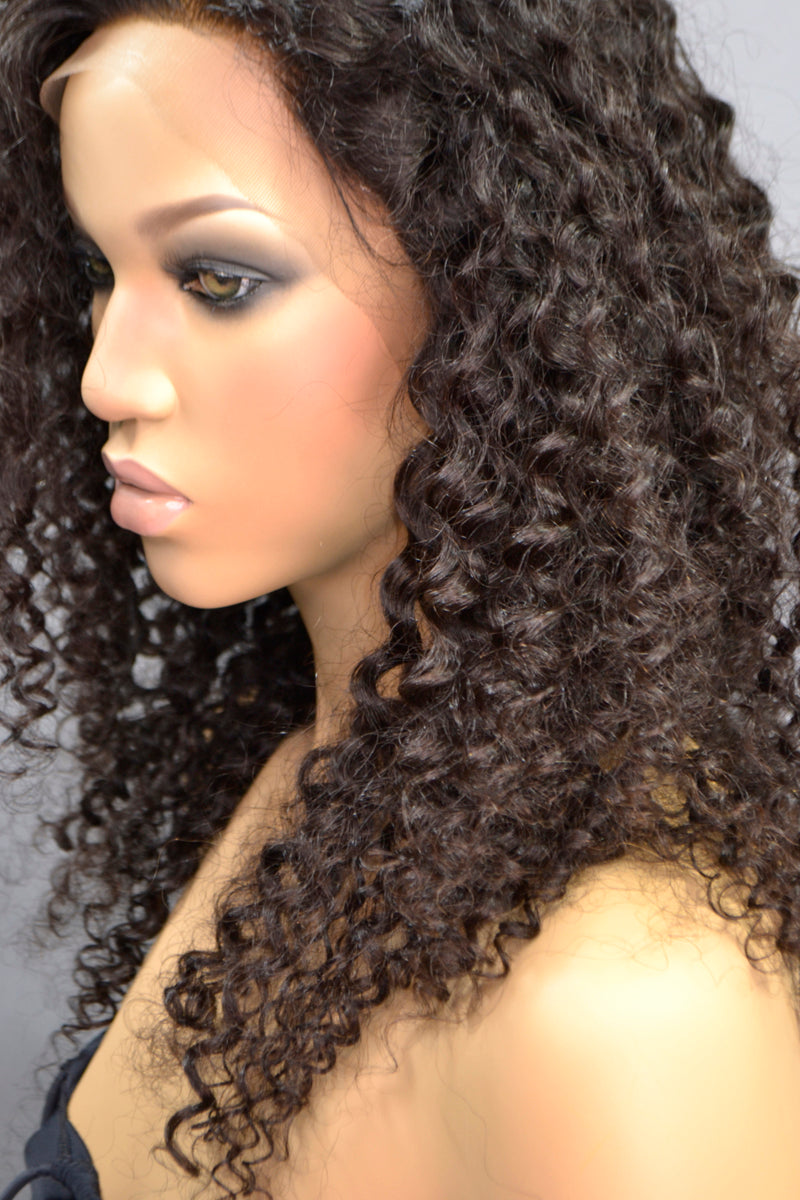 Brianna Full Lace Curly Hair Wig - My Elegant Tresses - Most Natural Wig
