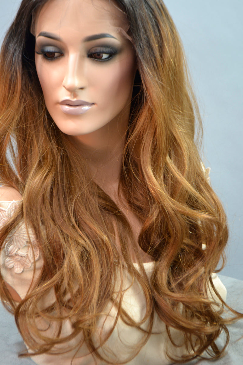 Zoe Lace Front Ombre Wig