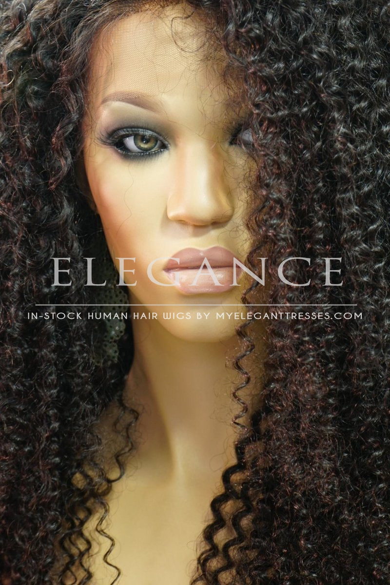 Alena African American Lace Front Wig-My Elegant Tresses-african american human wig