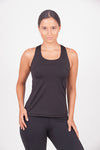 criss cross black sports shirt