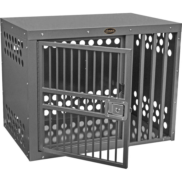Zinger Deluxe Side Entry Offset Dog Crate