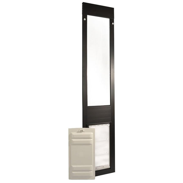 Patio Pacific Endura Quick Panel 3 Pet Door Medium Flap Bronze