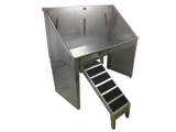 Groomers Best ADA Dog Tub w/ Lift & Slide Ramp